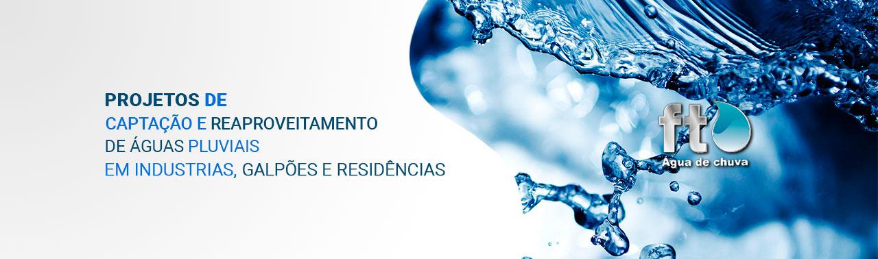 Projetos e Captação de Água de Chuva