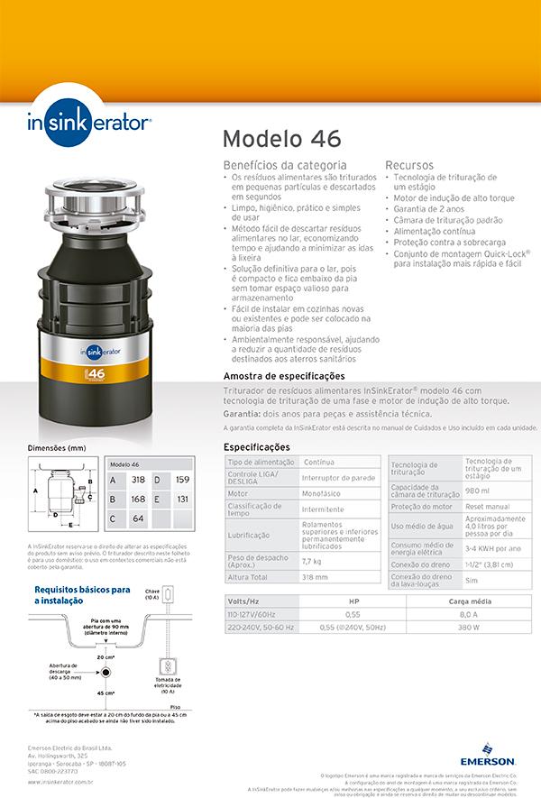 Insinkerator 46