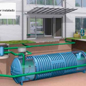 Sistema de Filtragem de Água Pluvial - 1