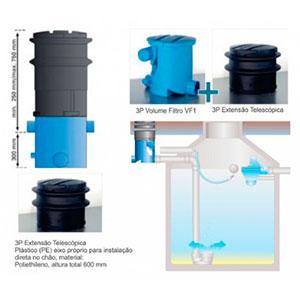 Kit de Captação de Água Pluvial